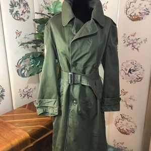 Vintage Army E8 Trench Coat